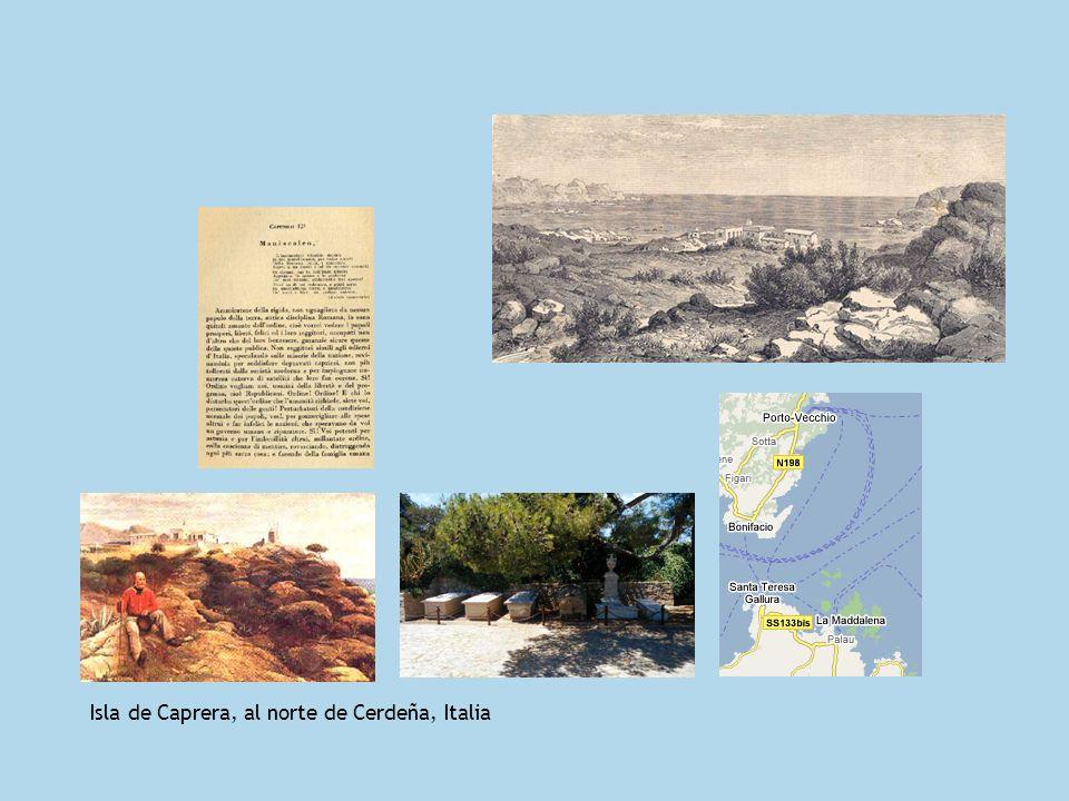 Isla de Caprera, al norte de Cerdeña, Italia