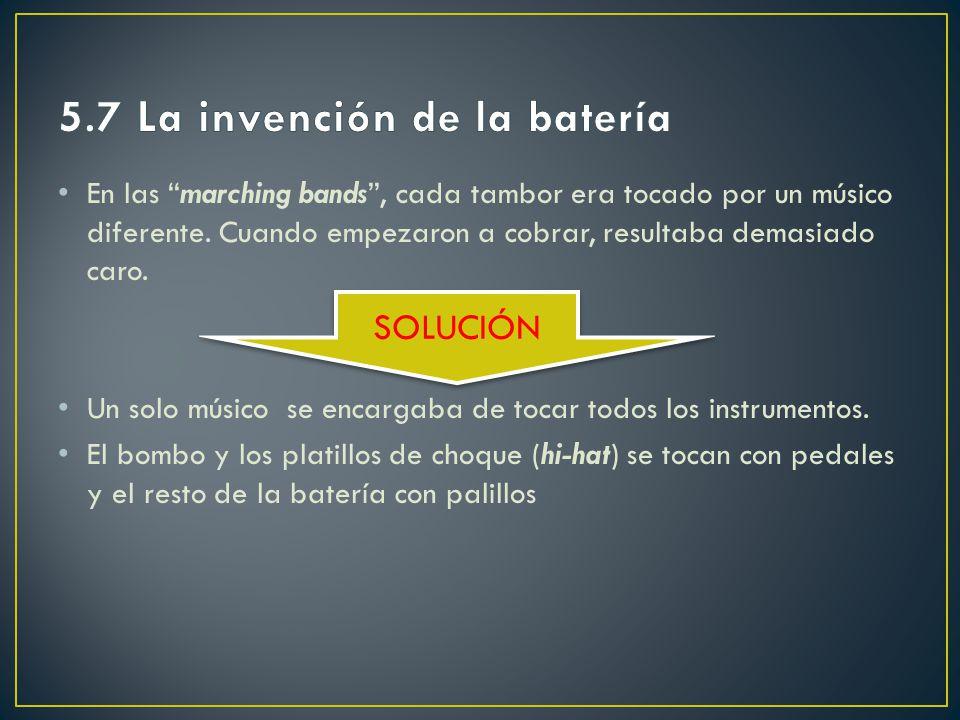 5.7 La invención de la batería