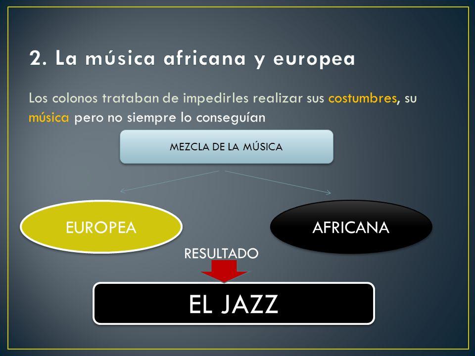 2. La música africana y europea