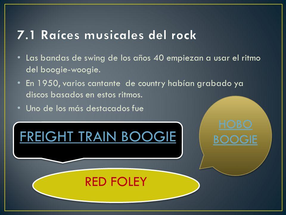 7.1 Raíces musicales del rock