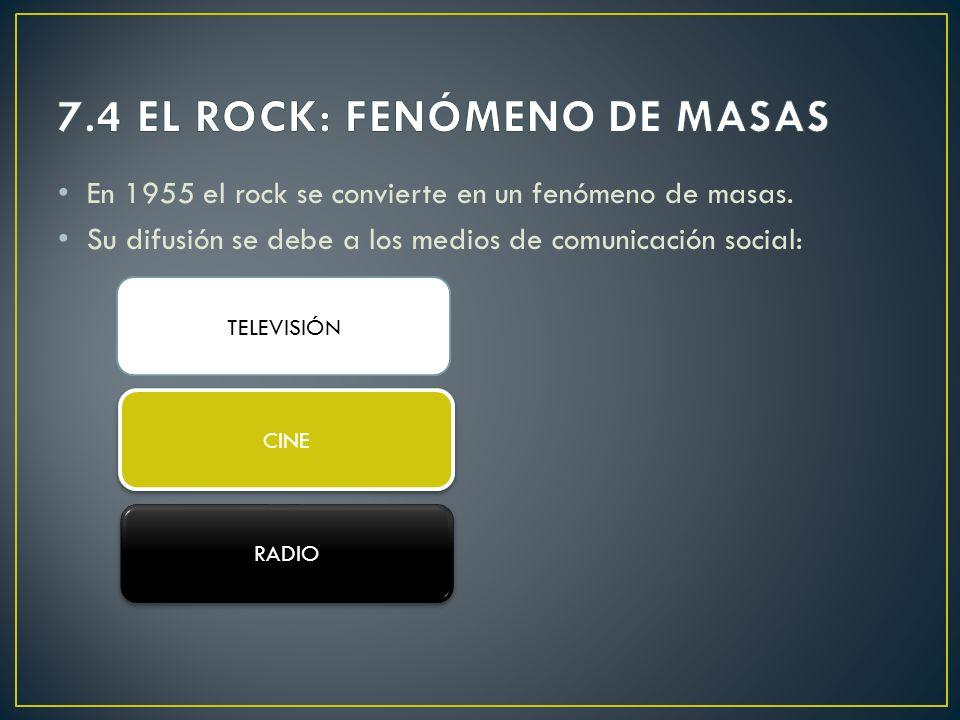 7.4 EL ROCK: FENÓMENO DE MASAS
