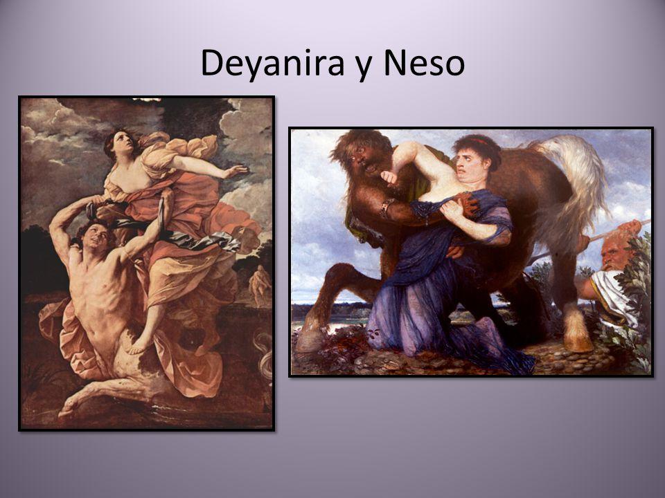 Deyanira y Neso
