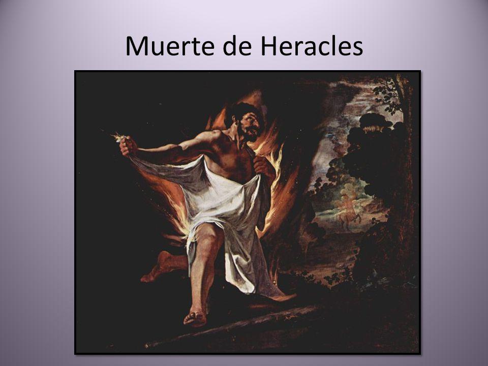 Muerte de Heracles