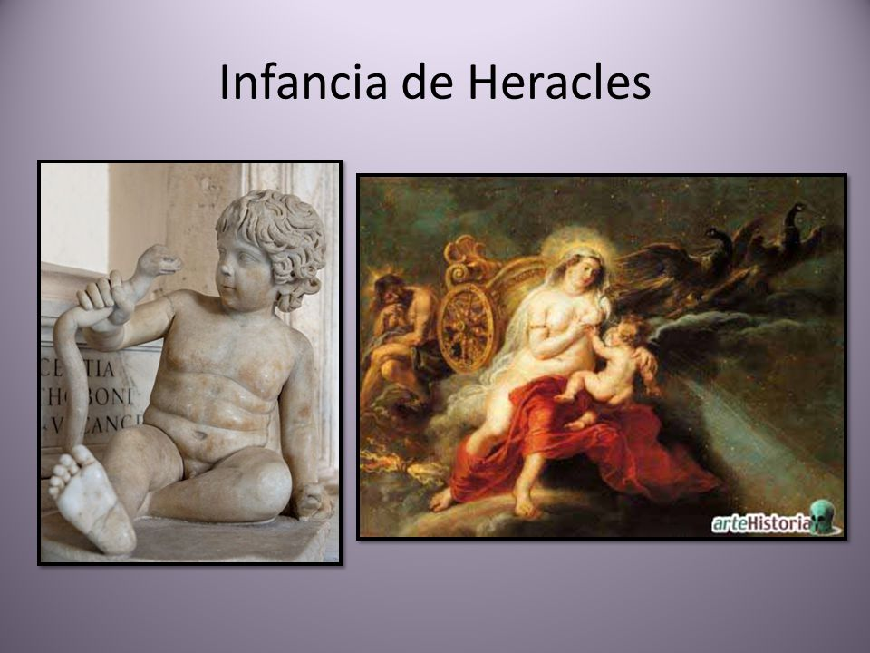 Infancia de Heracles