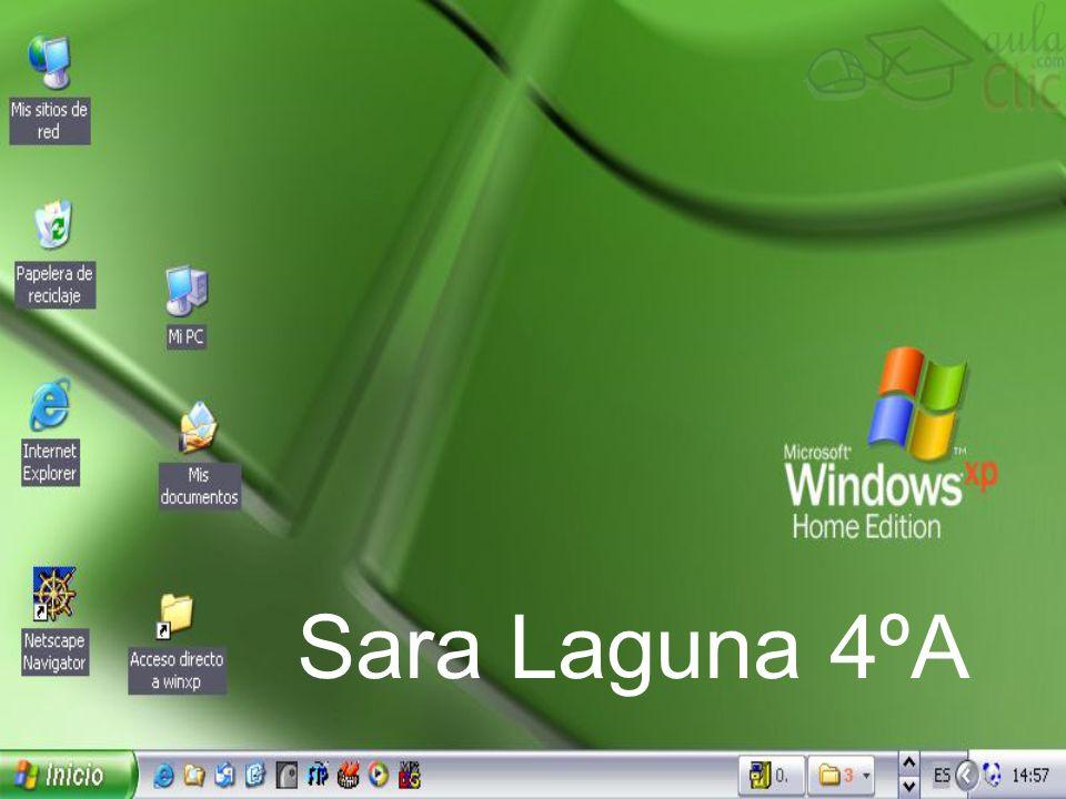 Sara Laguna 4ºA