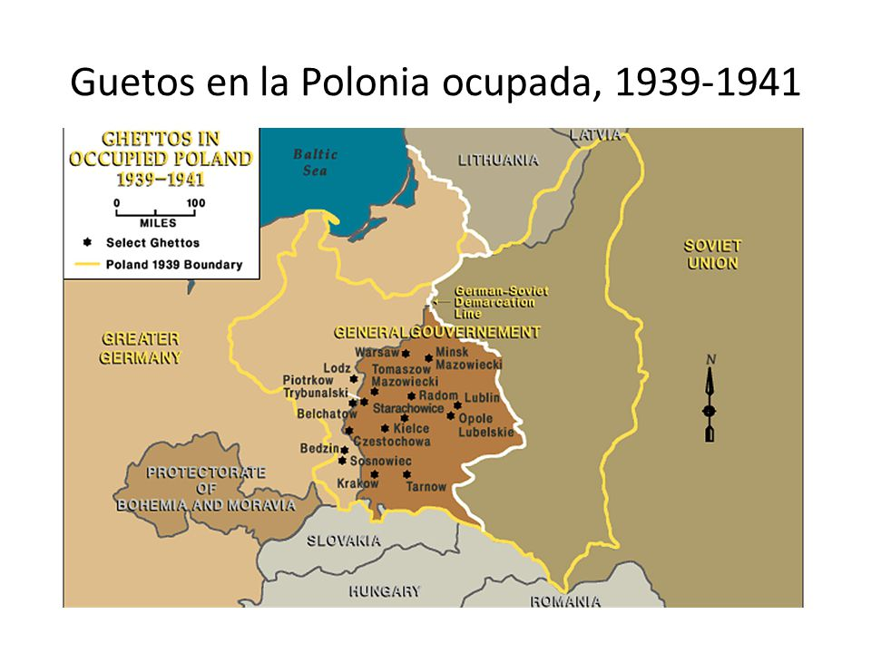 Guetos en la Polonia ocupada, 1939-1941