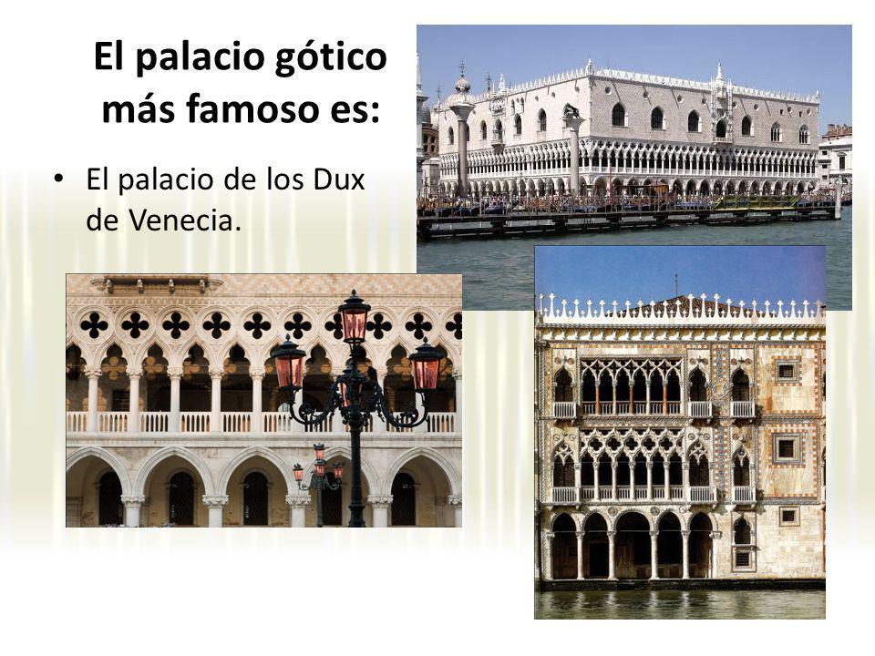El palacio gótico más famoso es: