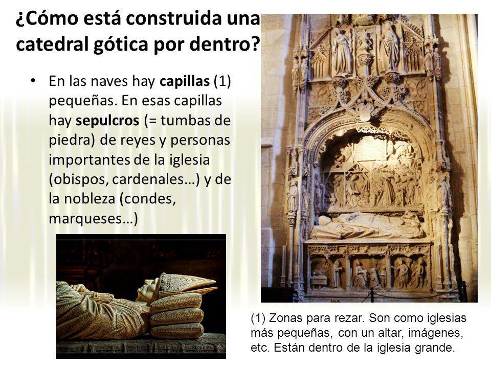 ¿Cómo está construida una catedral gótica por dentro