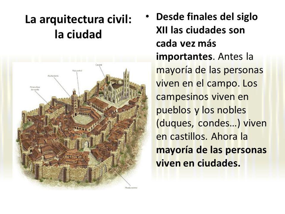 La arquitectura civil: la ciudad