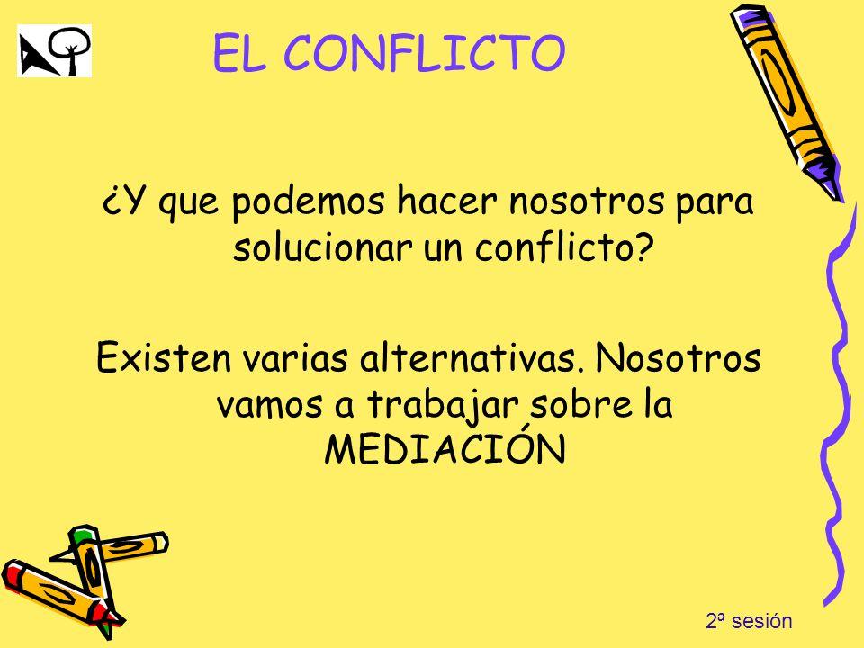 ¿Y que podemos hacer nosotros para solucionar un conflicto