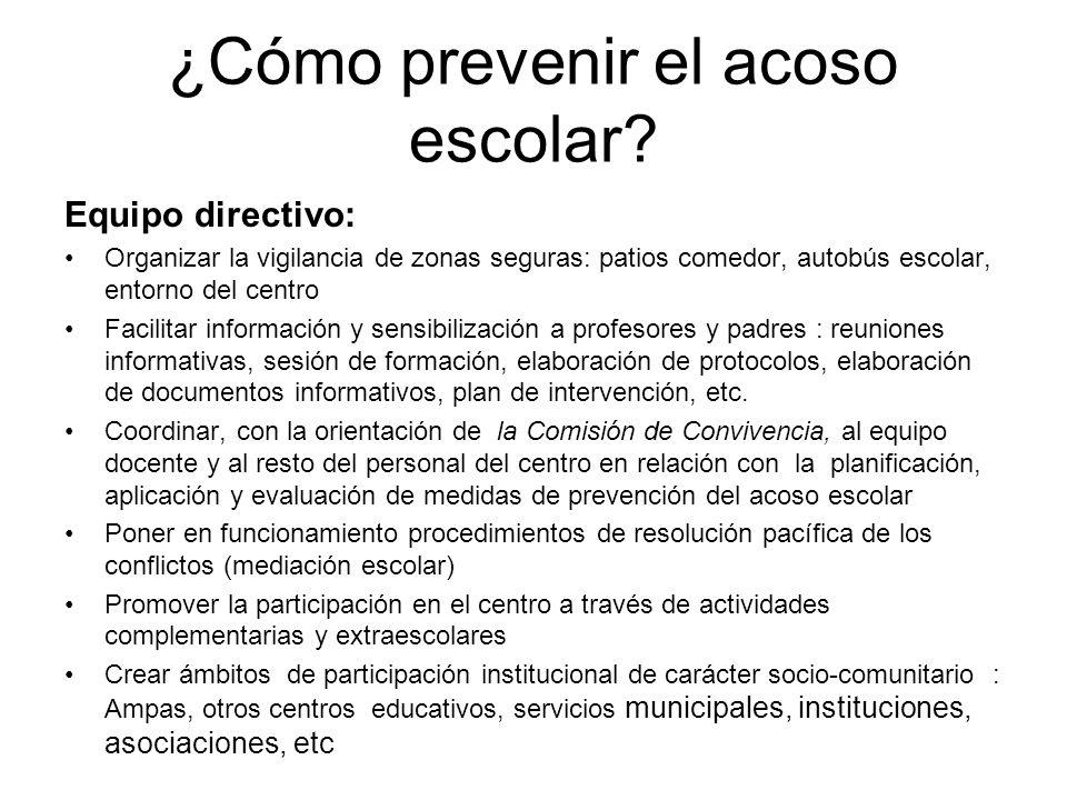 ¿Cómo prevenir el acoso escolar