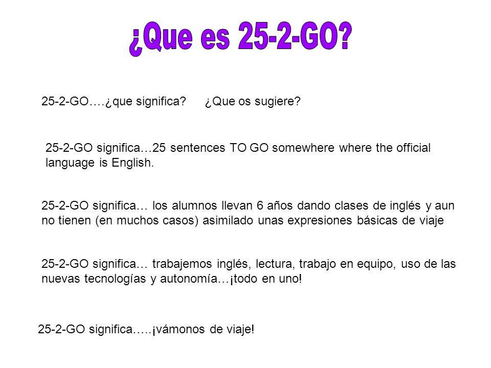 ¿Que es 25-2-GO 25-2-GO….¿que significa ¿Que os sugiere