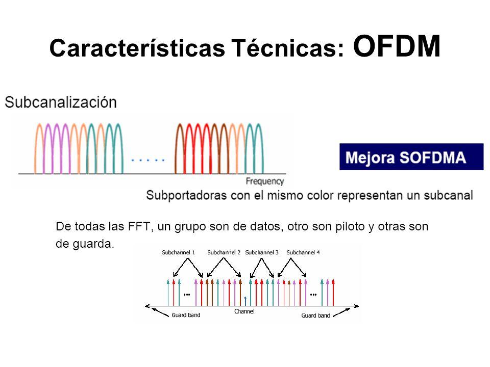 Características Técnicas: OFDM