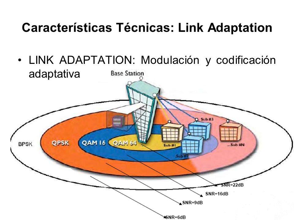 Características Técnicas: Link Adaptation
