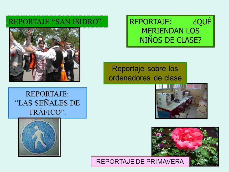 REPORTAJE SAN ISIDRO REPORTAJE: ¿QUÉ MERIENDAN LOS NIÑOS DE CLASE