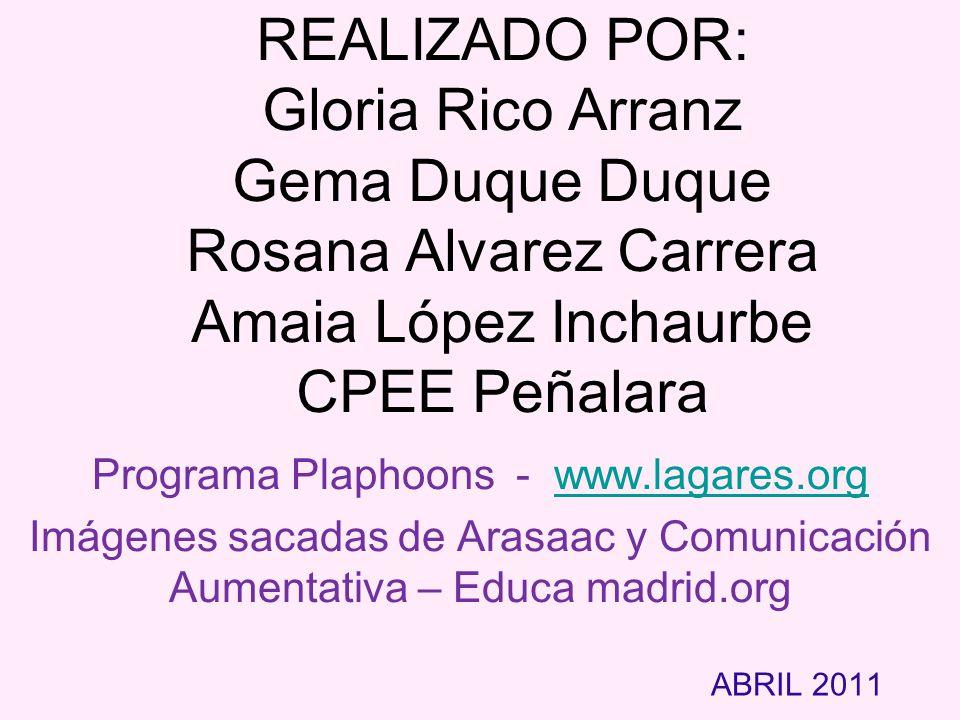 Programa Plaphoons - www.lagares.org