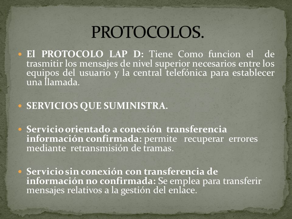 PROTOCOLOS.
