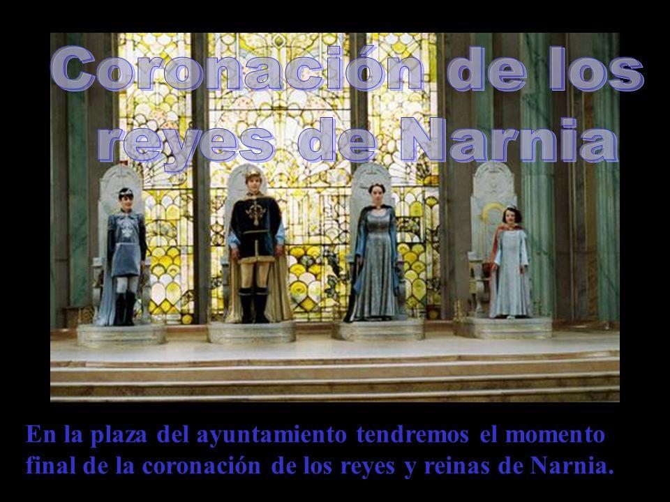 Coronación de los reyes de Narnia