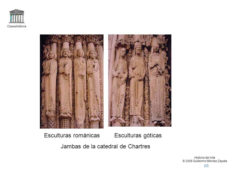 Jambas de la catedral de Chartres