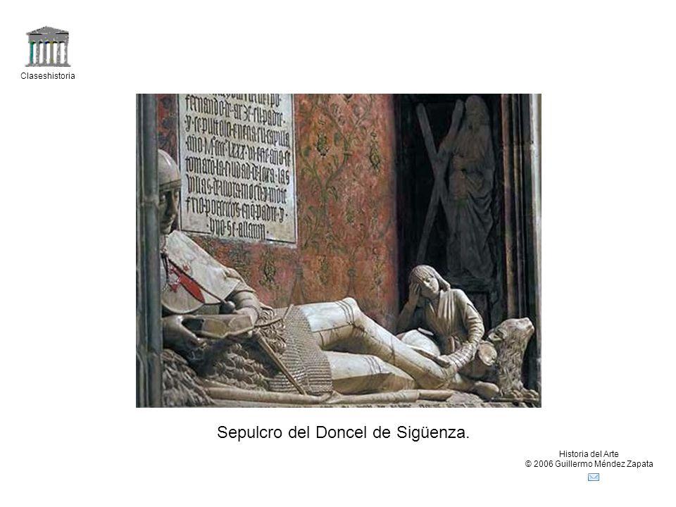 Sepulcro del Doncel de Sigüenza.