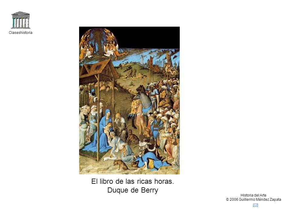 El libro de las ricas horas. Duque de Berry