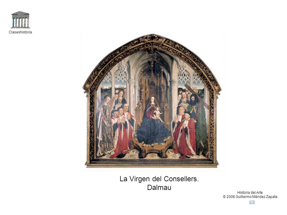 La Virgen del Consellers. Dalmau