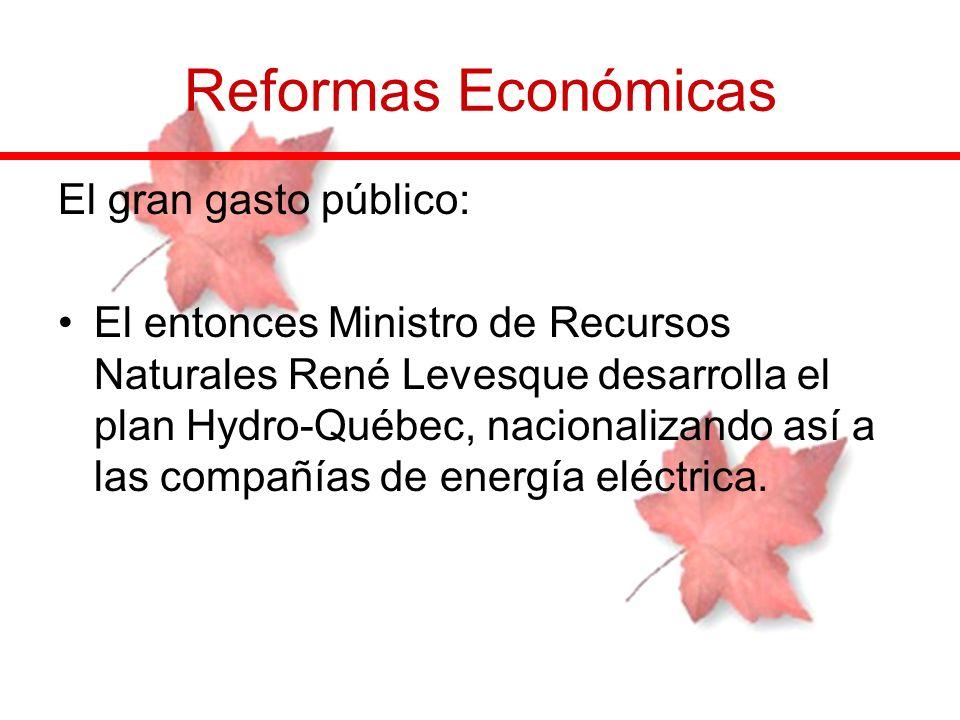 Reformas Económicas El gran gasto público:
