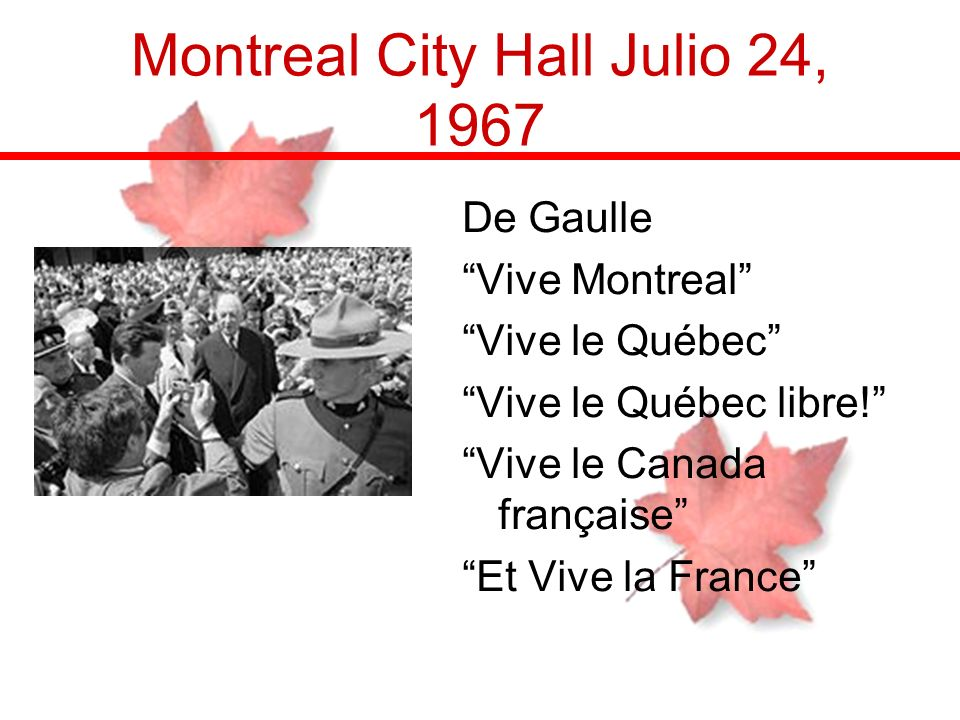 Montreal City Hall Julio 24, 1967