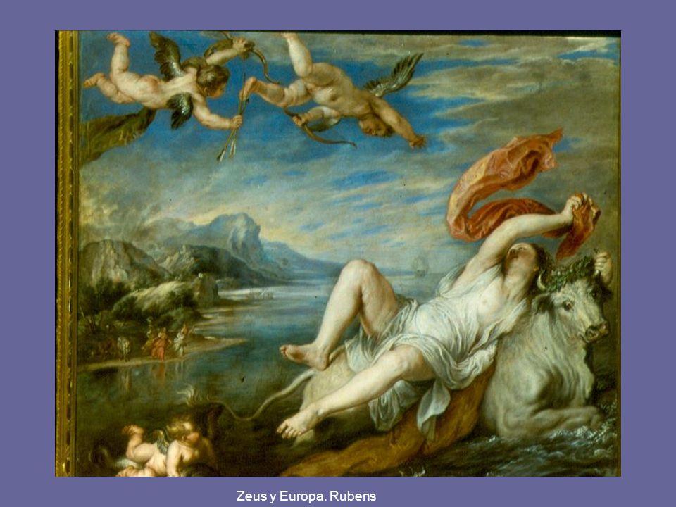 Zeus y Europa. Rubens