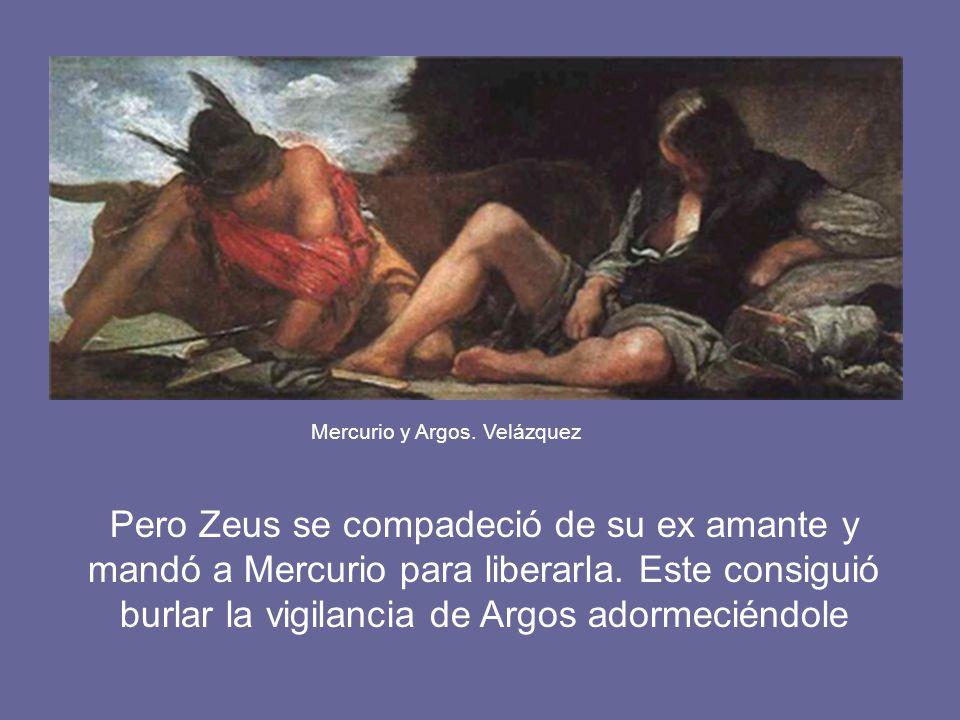 Mercurio y Argos. Velázquez