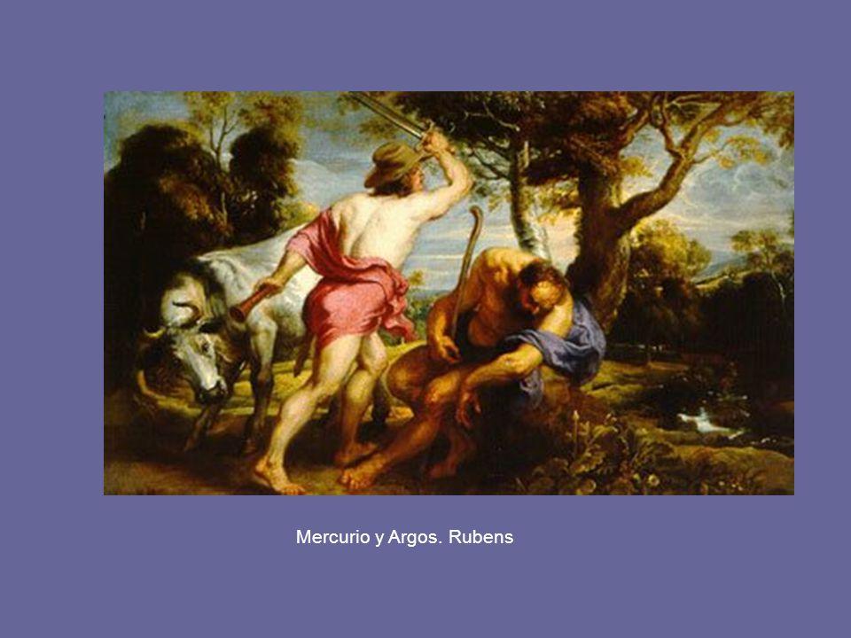 Mercurio y Argos. Rubens