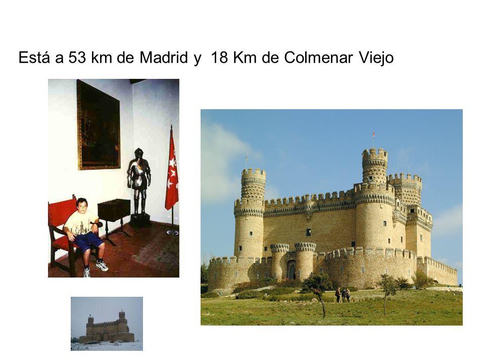 Está a 53 km de Madrid y 18 Km de Colmenar Viejo