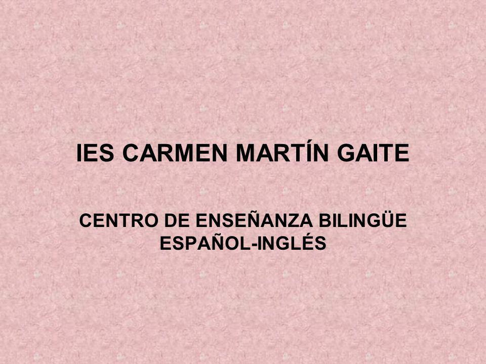 IES CARMEN MARTÍN GAITE
