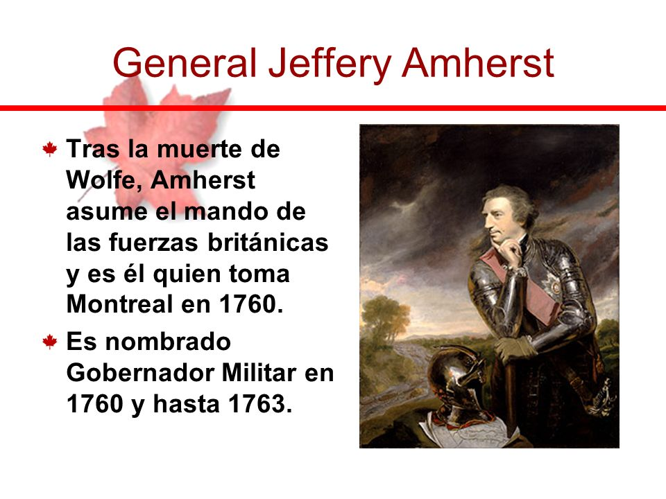 General Jeffery Amherst