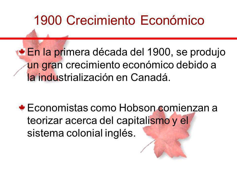 1900 Crecimiento Económico