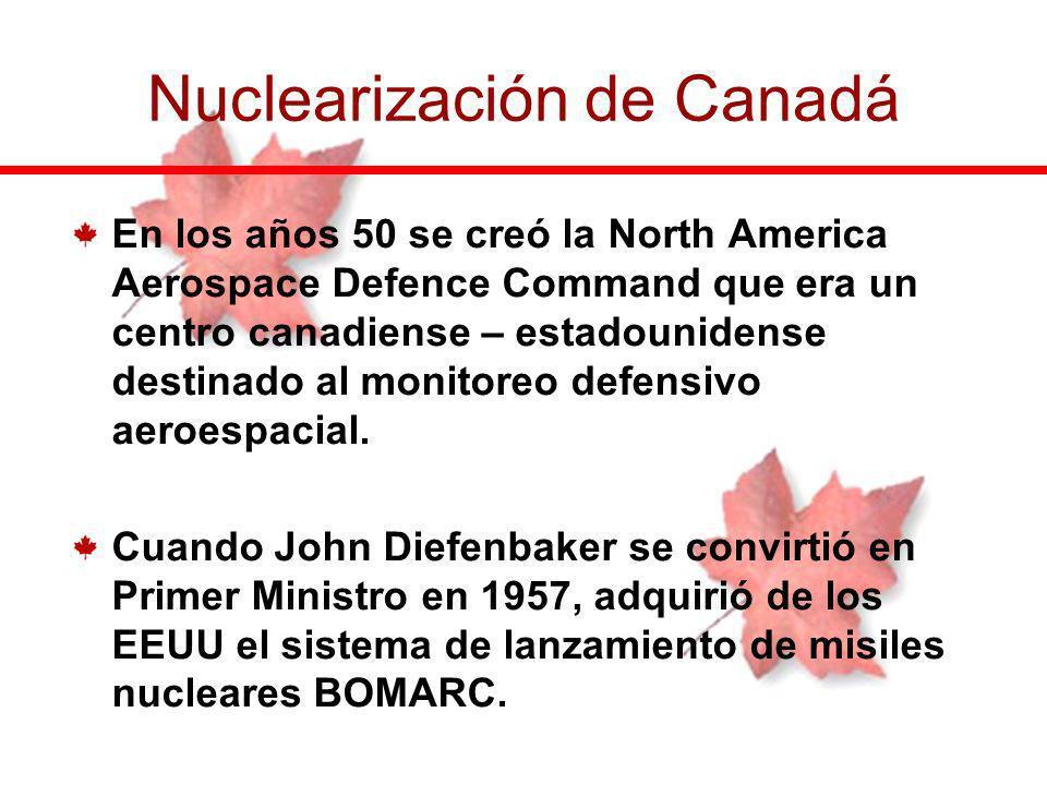Nuclearización de Canadá