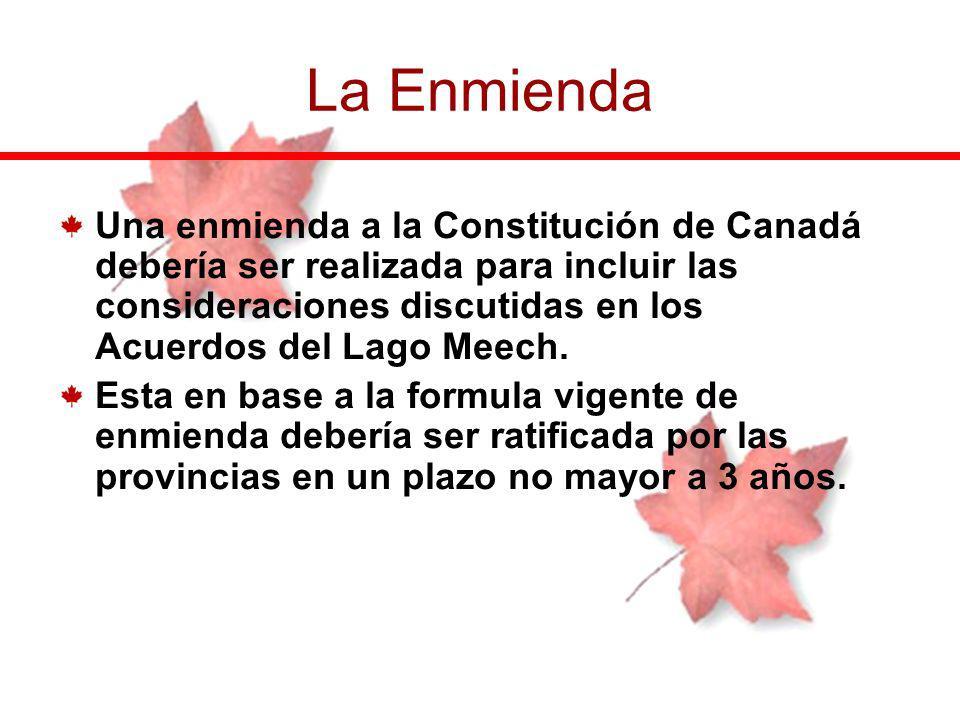 La Enmienda