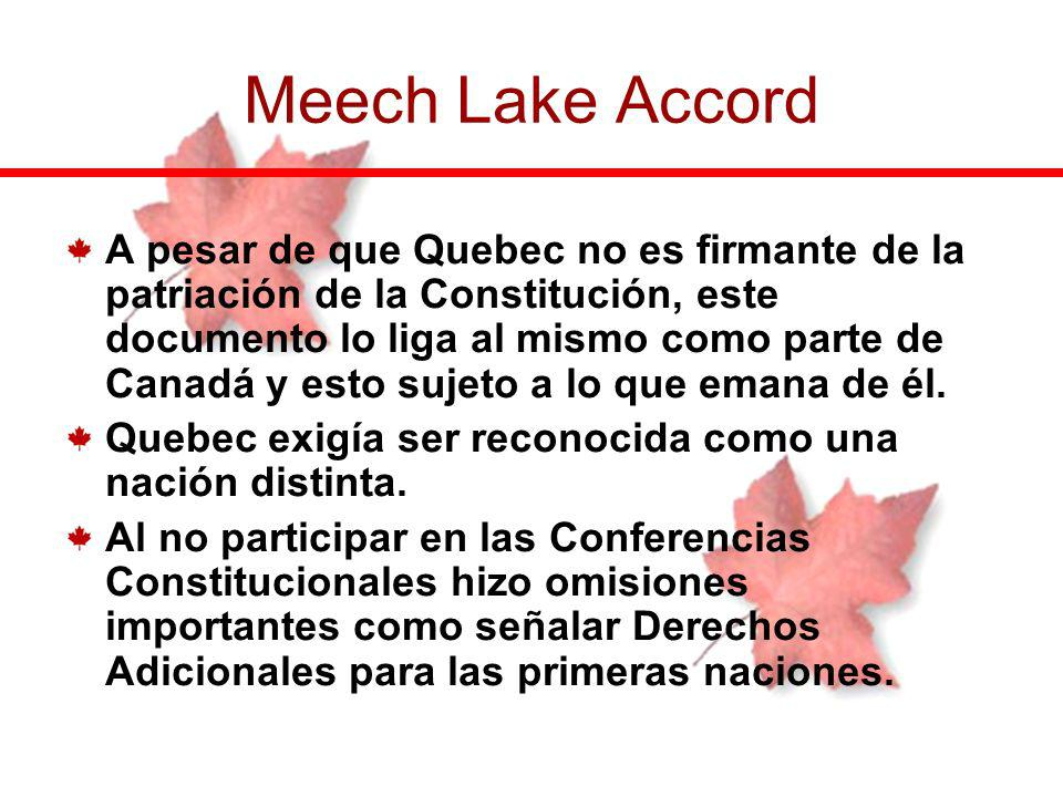 Meech Lake Accord