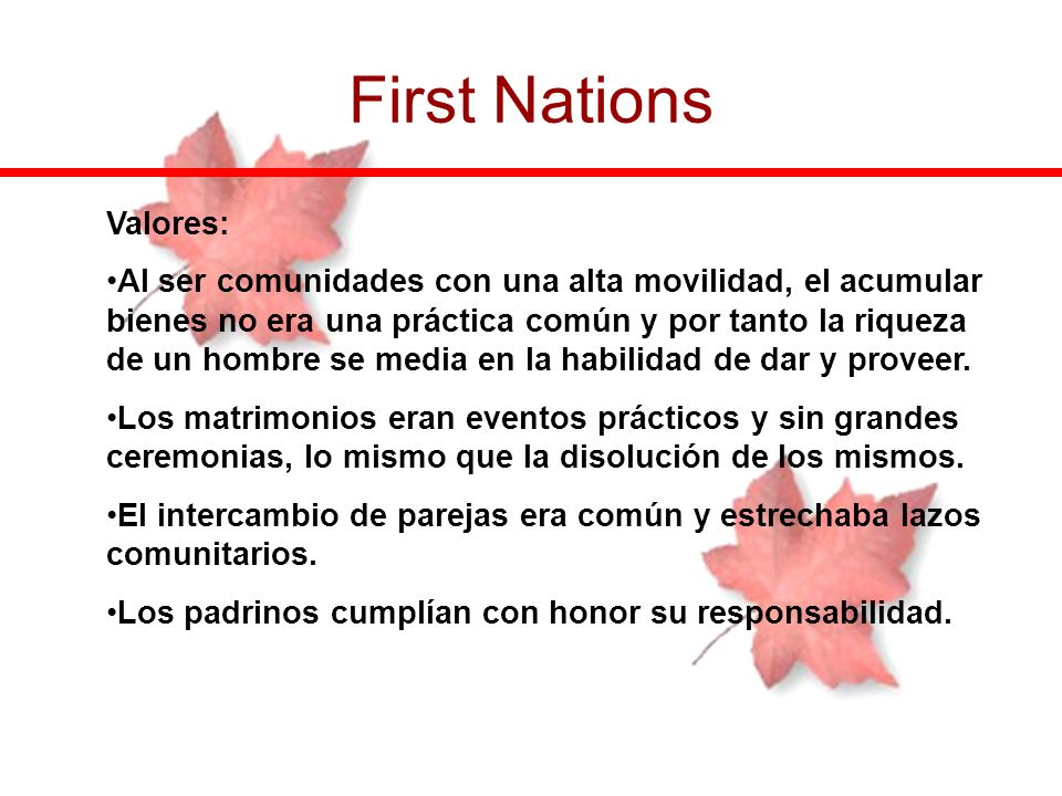 First Nations Valores:
