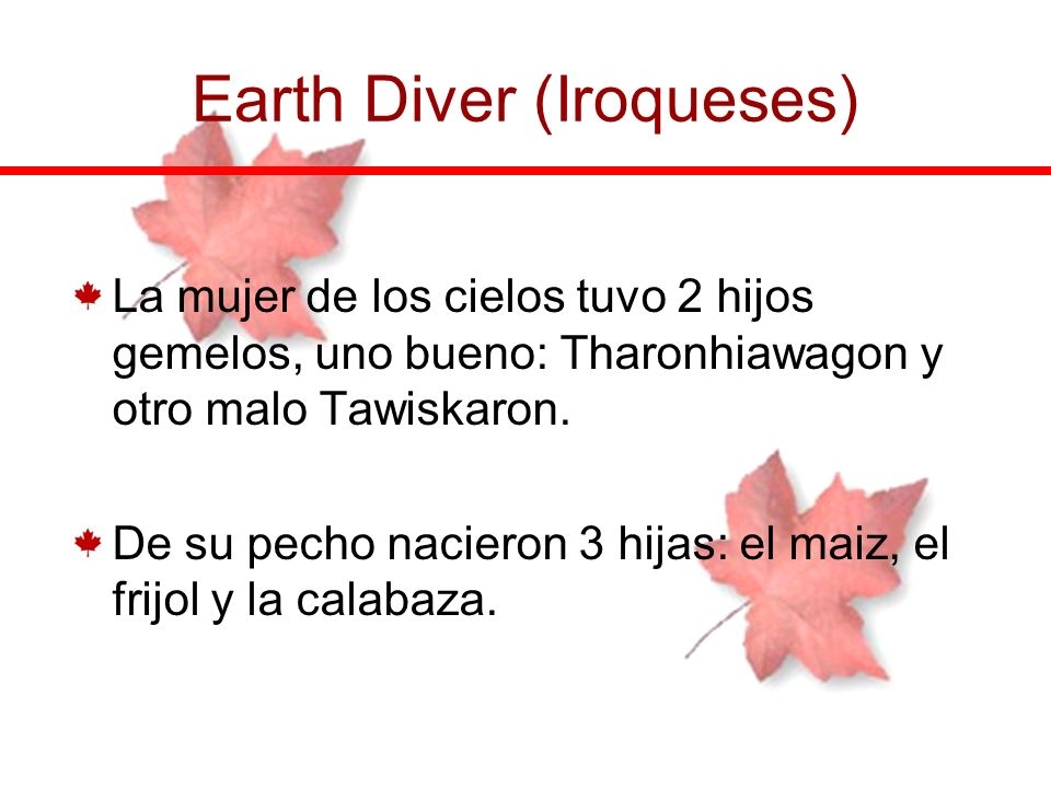 Earth Diver (Iroqueses)