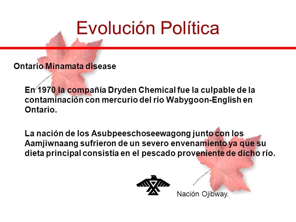 Evolución Política Ontario Minamata disease