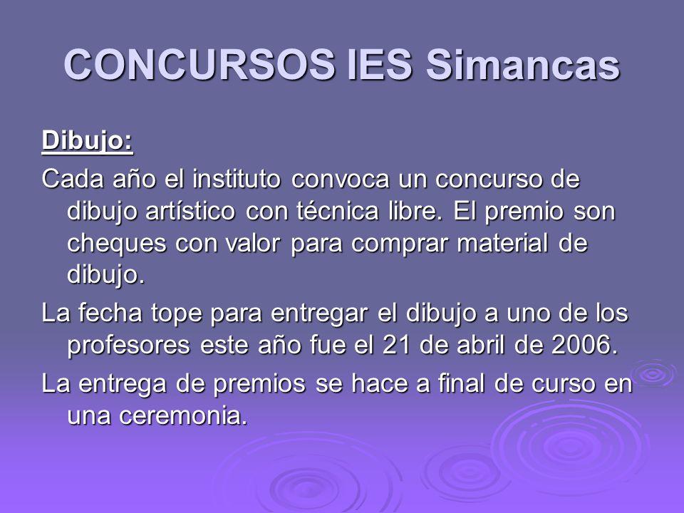 CONCURSOS IES Simancas