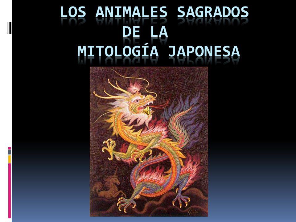 Los animales sagrados de la mitología japonesa