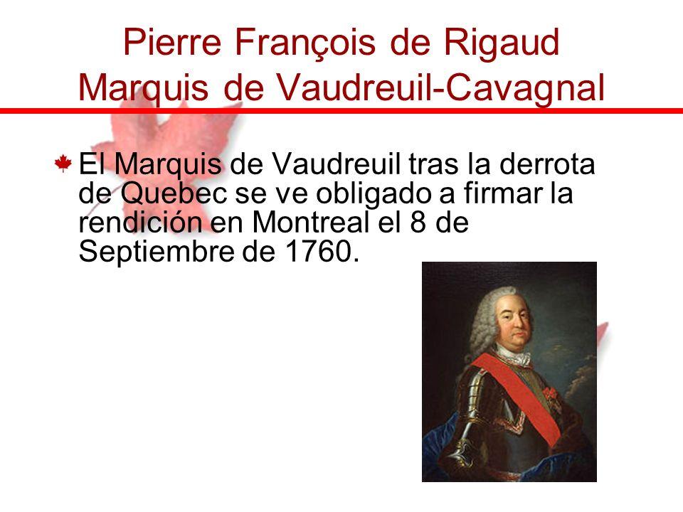 Pierre François de Rigaud Marquis de Vaudreuil-Cavagnal