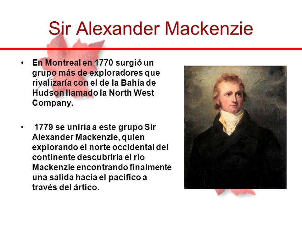 Sir Alexander Mackenzie
