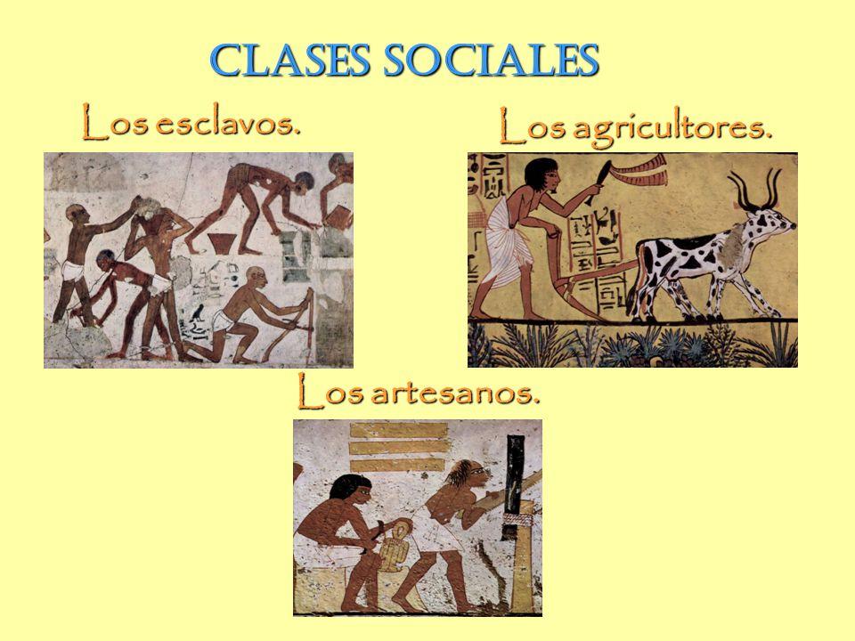 Clases sociales Clases sociales Los esclavos. Los agricultores.