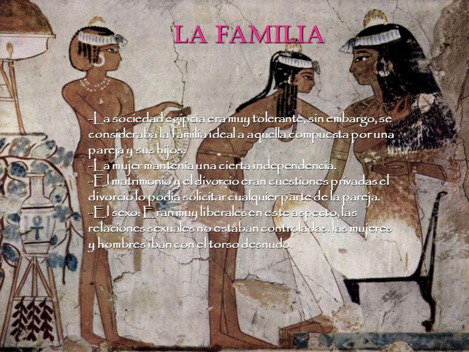 La familia La familia.