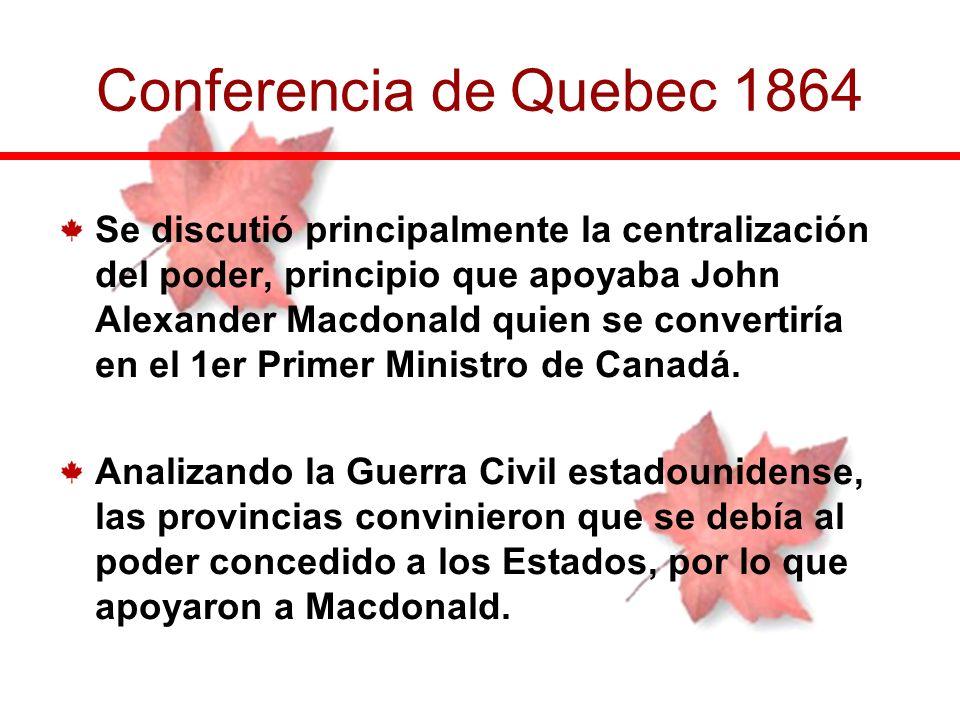 Conferencia de Quebec 1864