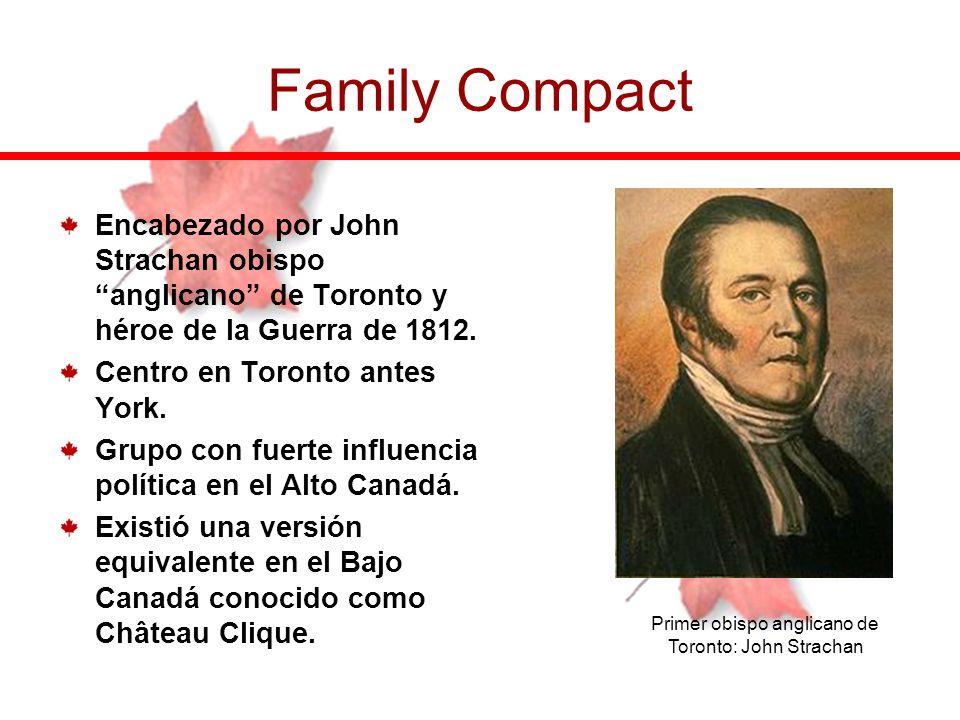 Primer obispo anglicano de Toronto: John Strachan