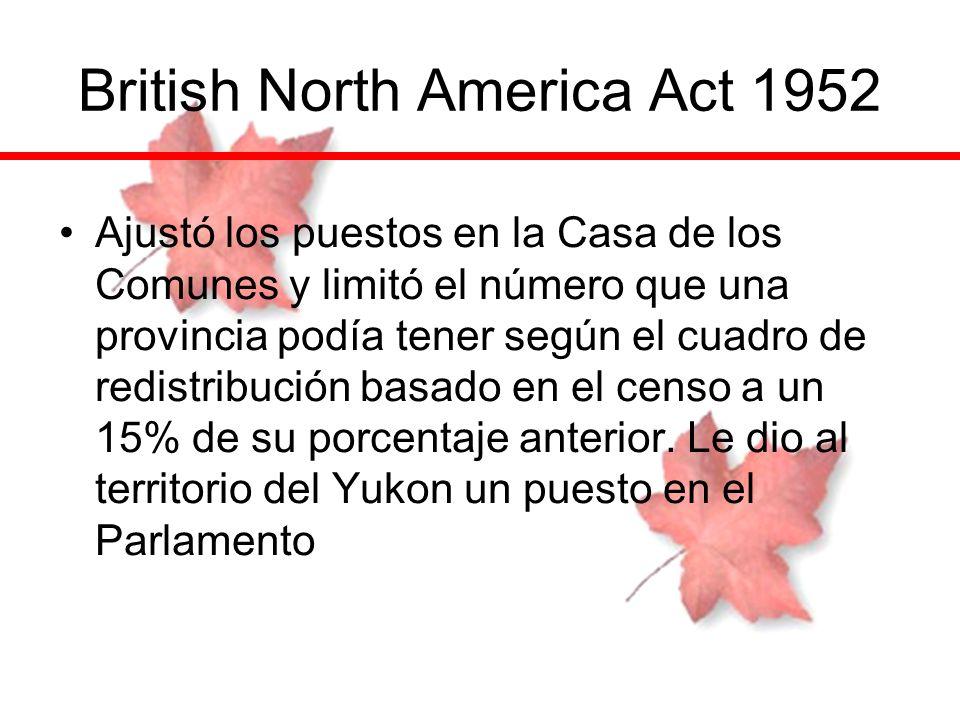 British North America Act 1952